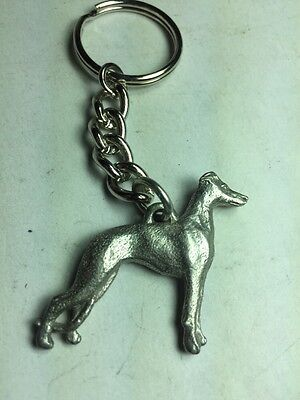 Dog Keychain Whippet Dod Made Of Fine Pewter