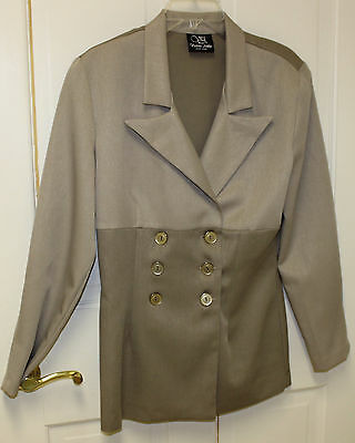Victoria Ashley New York Double Breasted Woman's Jacket Size 11/12
