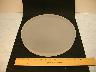 Not quite 10-inch telescope mirror blank, Corning fused silica