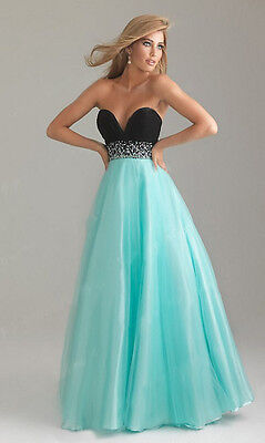 Women Long Evening Formal Party Cocktail Bridesmaid Prom Gown Dress 6-16