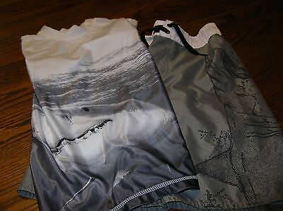 Boy's Swim Trunks and Swim Shirt Old Navy size 8 EUC