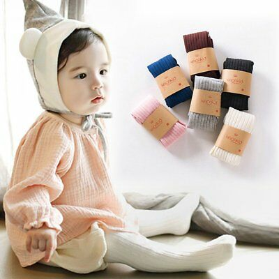 AU Newborn Baby Infant Kids Warm Tights Stockings Toddler Knee High Pantyhose