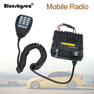 Updated QYT KT-8900D Dual Band Color LCD Quad-Standy Mobile Radio Transceiver BG