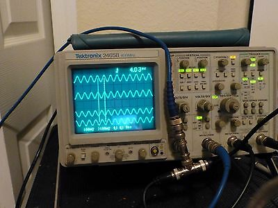 Tektronix 2465B Analog Oscilloscope refurbished