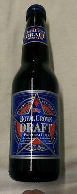 RC Cola Draft Premium Royal Crown Unopened Bottle Mint and Full