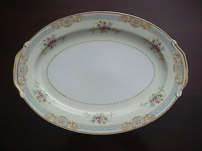 """S.G.K. CHINA * Occupied Japan * 10-1/4"""" x 14-1/8"""" Serving PLATTER * Exc Cond"""