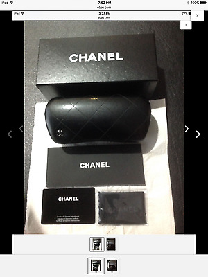 CHANEL sunglasses case with accesories