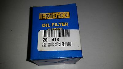 Emgo 1079110 Yamaha Oil Filter 5HO-13440-00 or 20-418