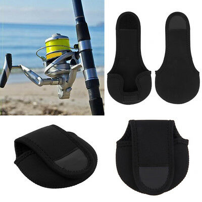 Neoprene Fly Fishing Reel Storage Bag Protective Cover Case Pouch Holder
