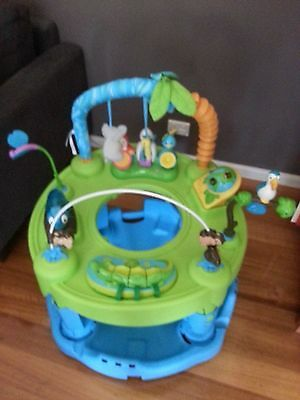 Exersaucer toddler play centre, jungle theme / excellent used condition