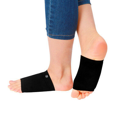 2pcs Plantar Fasciitis Arch Support Sleeve Gel Cushion Foot Pain Heel Insole