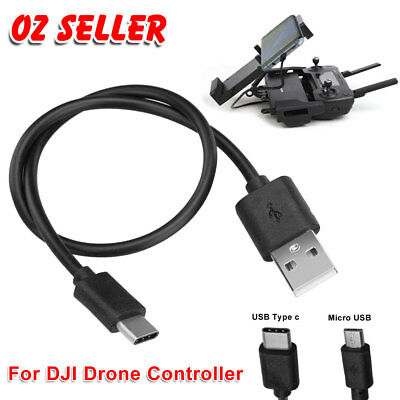 Standard Micro USB/Type-C Cable Connector For DJI Mavic Pro Spark Remote