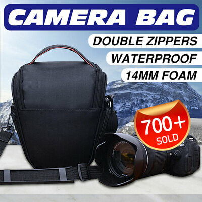 DSLR SLR Camera Bag Carry Case Lens Case For Canon EOS Nikon Sony Panasonic