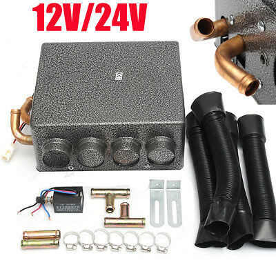 21PCS Universal Copper Car Underdash Compact Heater 12V Heat w/ Speed Switch