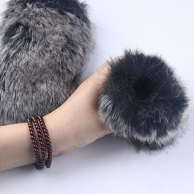 Microphone Mic Windshield Fur Wind Noise Muff Windscreen For Camera Recorder DV