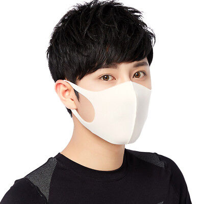 3 pcs/set Anti-haze Masks Dust Sponge Breathable Cooling Summer Sunscreen Masks