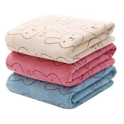 AU Soft Baby Infant Newborn Kids Toddler Bath Towel Washcloth Feeding Wipe Cloth