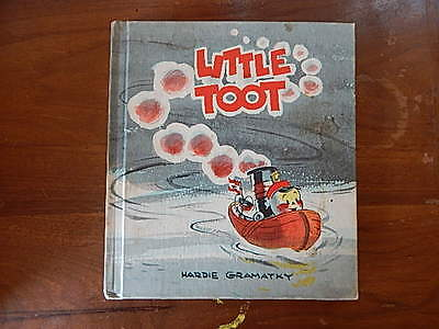 LITTLE TOOT Hardcover Children's Book by HARDIE GRAMATKY Copyright 1939 Old
