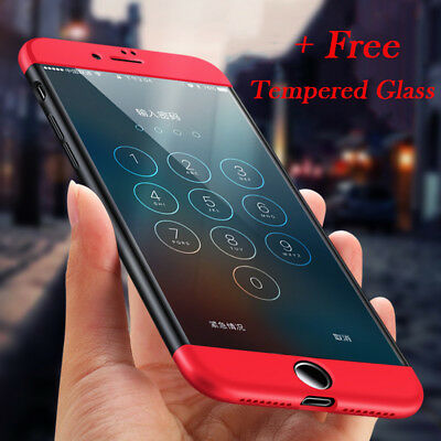For iphone 7 6s Plus Luxury Slim Hybrid Shockproof Armor Hard Thin Case Cover