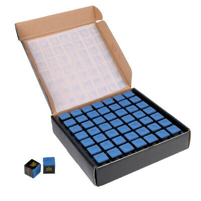 98 Pieces Blue Pool/Snooker/Billiard Tables Cues Tips Chalks