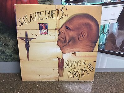 Summer of Punishment Sat. Nite Duets LP Record w/ Download Code NEW