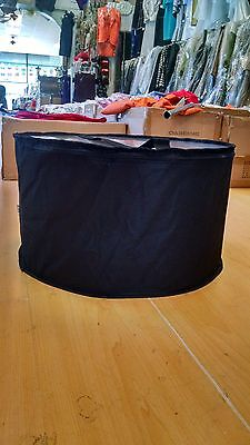 Large hat box Black
