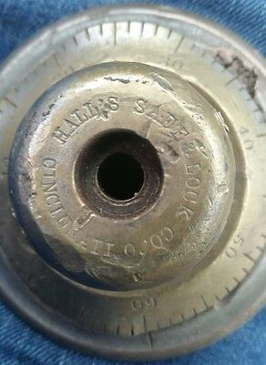 Vintage Hall's Safe and Lock Company Dial
