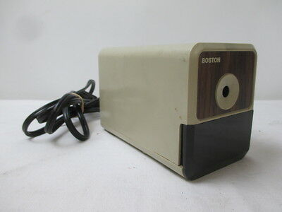 Vintage Boston Electric Plug In Pencil Sharpener