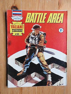 Valiant Picture Library #45 - Battle Area  VG+  Fleetway