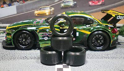 1/32 PAULGAGE SLOT CAR TIRE 2pr PGT-20125LMXD NEW SIZE fits BMW Z4 GT3
