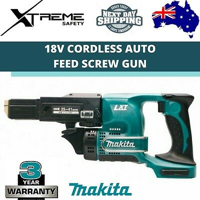 Makita Cordless Auto Feed Screw Gun Skin 18V