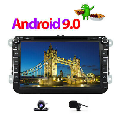 "8"" Android 8.1 VW PASSAT Car DVD Sat Nav GPS for GOLF MK5 MK6 T5 EOS POLO Skoda"