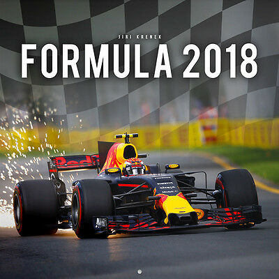 "2018 Formula 1 Wall Calendar, F1, Formula One With ""free"" Uk Tracked Delivery"