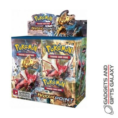 OFFICIAL POKEMON BREAK POINT BOOSTER PACKS TRADING CARD GAME Table top games