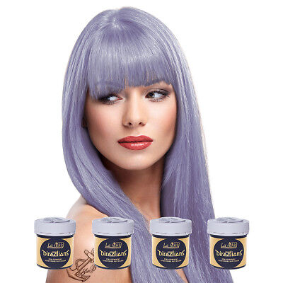 La Riche Directions Semi Permanent Wisteria Colour Hair Dye Kit 4 Pack 88ml