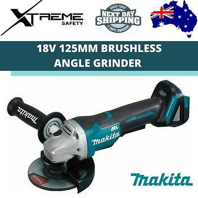 Makita Brushless Angle Grinder Skin 18V 125mm