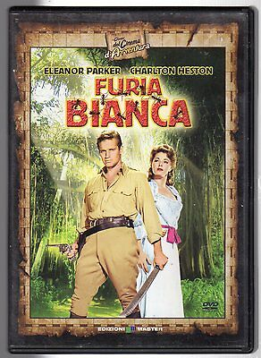 dvd FURIA BIANCA Eleanor PARKER Charlton HESTON