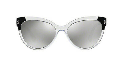 8c52f371896e Versace Sunglasses VE 4338 5243 6G Crystal Black  Mirror Gray Silver 57mm  52436G