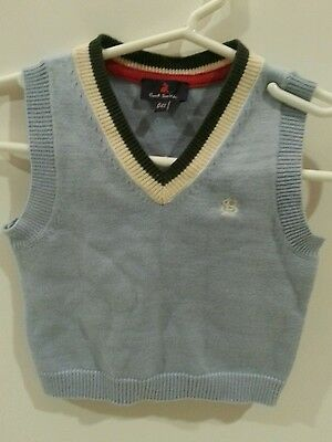 Paul Smith Vest light blue Baby Boy six month clean very nice