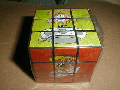 Vintage Quaker Oats Cereal Quisp Puzzle Cube Mail Away Premium Space Toy New