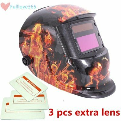 Solar Energy Automatic Light Changing Electric Welding Mask Auto Darken SM