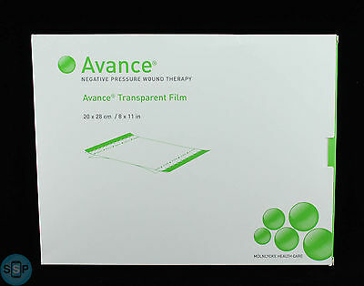 New Avance Transparent Film 8 x 11 in Ref 662000 qty 20 PCs - 4 Boxes of qty 5