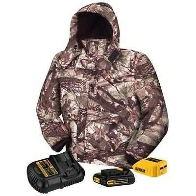 DEWALT DCHJ062C1-M 20V/12V MAX Camo Heated Jacket Kit, Medium - $200
