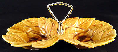 14199 Vintage Ceramic Wade Of California Pottery Candy/nut Dish Usa #723
