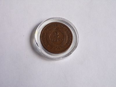 1868 Two Cent Piece U.s. Coin