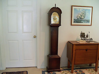 Rare 1947 Herschede GE Electric Grandmother Westminster Chime Clock - Excellent!