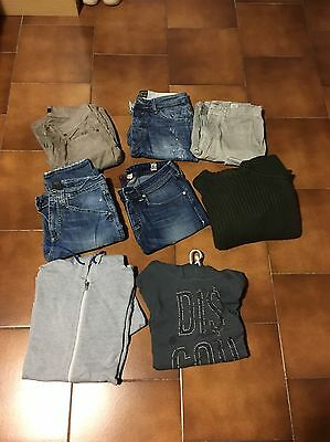 Stock Jeans Pantaloni Maglione Felpa Imperial Dondup Cycle
