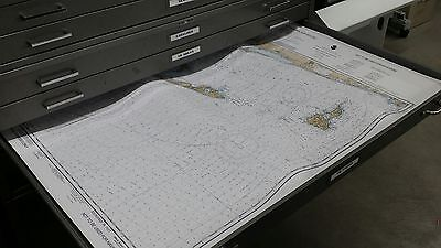 Chart File Cabinet with 5 drawers great for charts maps blueprints PICK UP ONLY