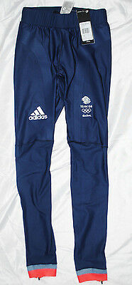 Mens Official ADIDAS RIO 2016 Long Running Tights Performance Full Length XS - L