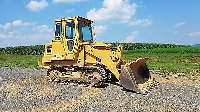 1983 Caterpillar 943 Track Loader Cat Diesel Engine Hydraulic Machine Cab w Heat